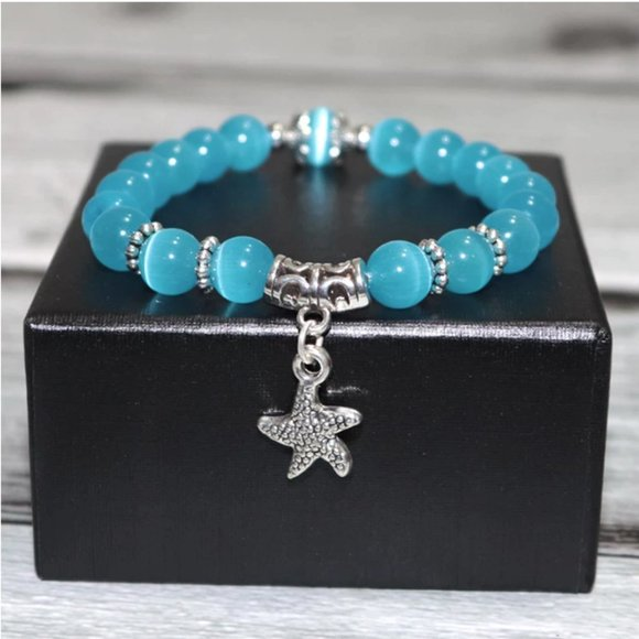 Starfish Opal Beaded Bracelet